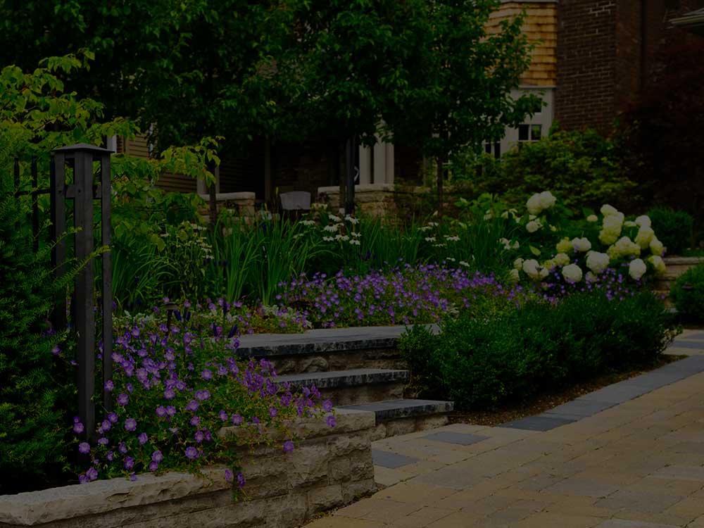 Gainesville Commercial Garden Design