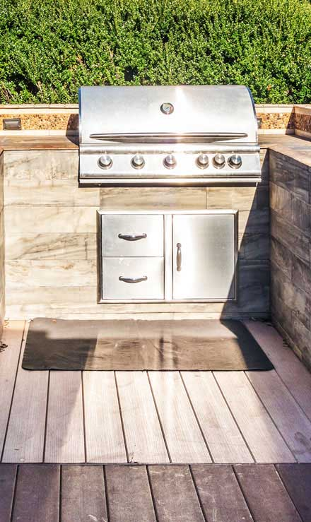 J.W. Lawncare Inc Outdoor Kitchen