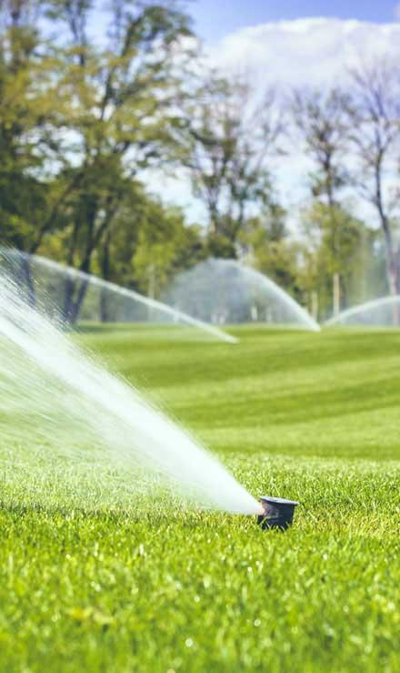 J.W. Lawncare Inc Sprinkler Installation
