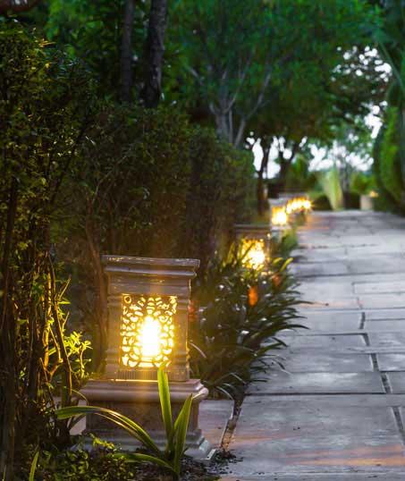 J.W. Lawncare Inc Residential Landscape Lighting