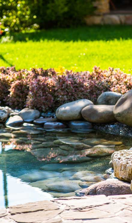 J.W. Lawncare Inc Residential Water Features